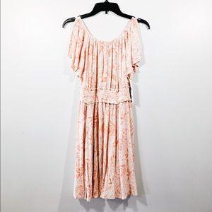Coral Spring Mini Dress